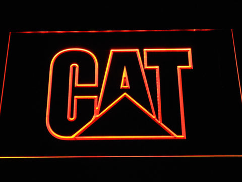 Image of Caterpillar LED Neon Sign - Orange - SafeSpecial