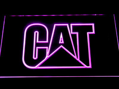 Caterpillar LED Neon Sign - Purple - SafeSpecial