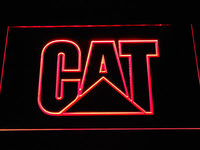 Caterpillar LED Neon Sign - Red - SafeSpecial