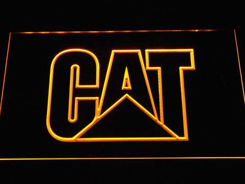 Image of Caterpillar LED Neon Sign - Yellow - SafeSpecial