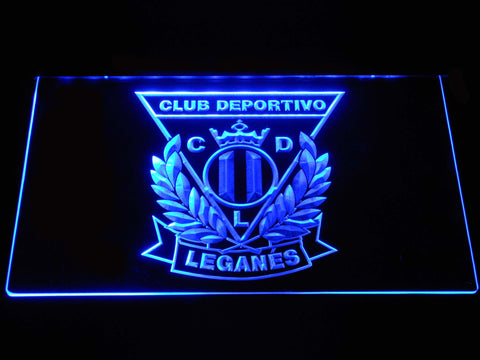 Image of CD Leganes LED Neon Sign - Blue - SafeSpecial