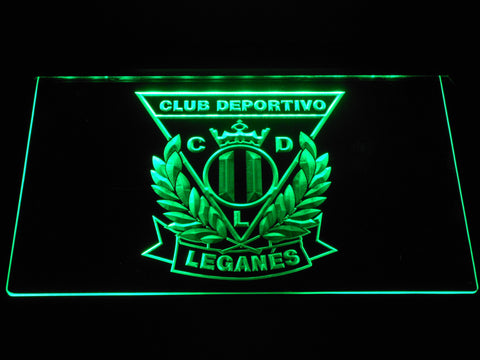 Image of CD Leganes LED Neon Sign - Green - SafeSpecial