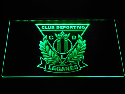CD Leganes LED Neon Sign - Green - SafeSpecial