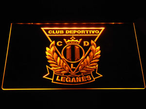CD Leganes LED Neon Sign - Yellow - SafeSpecial