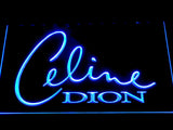 Celine Dion LED Neon Sign - Blue - SafeSpecial