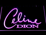 Celine Dion LED Neon Sign - Purple - SafeSpecial