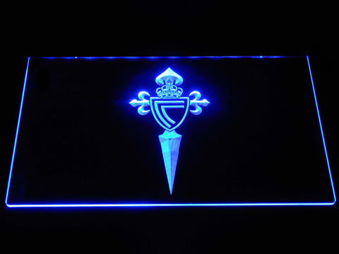 Image of Celta Vigo LED Neon Sign - Blue - SafeSpecial