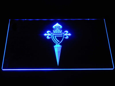 Celta Vigo LED Neon Sign - Blue - SafeSpecial