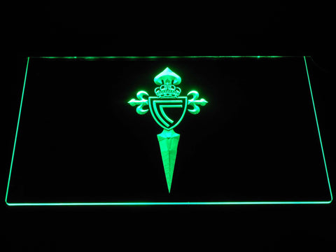 Image of Celta Vigo LED Neon Sign - Green - SafeSpecial
