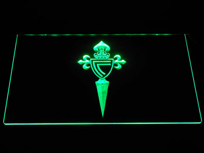 Celta Vigo LED Neon Sign - Green - SafeSpecial