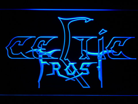 Celtic Frost LED Neon Sign - Blue - SafeSpecial