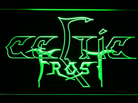 Celtic Frost LED Neon Sign - Green - SafeSpecial