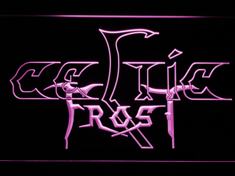 Celtic Frost LED Neon Sign - Purple - SafeSpecial