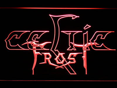 Celtic Frost LED Neon Sign - Red - SafeSpecial