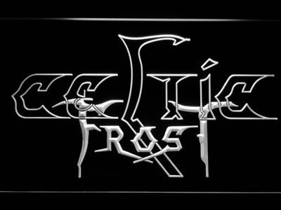 Celtic Frost LED Neon Sign - White - SafeSpecial