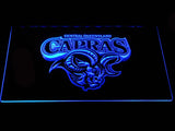 Central Queensland Capras LED Neon Sign - Blue - SafeSpecial