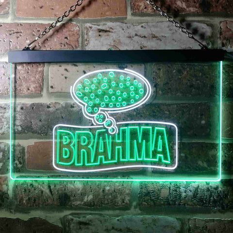 Image of Cerveza Brahma Think Beer Neon-Like LED Sign - Dual Color