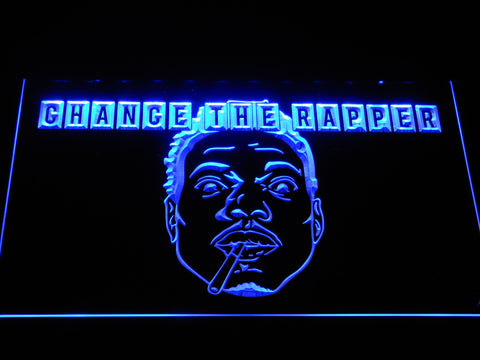 Chance the Rapper LED Neon Sign - Blue - SafeSpecial
