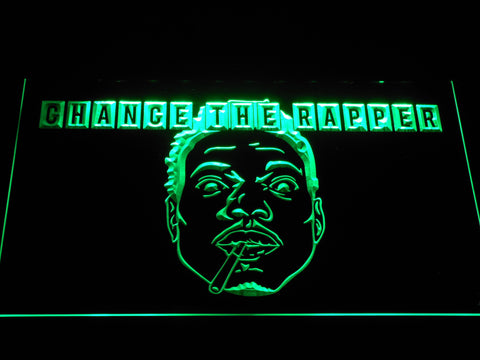 Chance the Rapper LED Neon Sign - Green - SafeSpecial