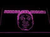 Chance the Rapper LED Neon Sign - Purple - SafeSpecial