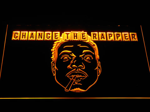 Chance the Rapper LED Neon Sign - Yellow - SafeSpecial