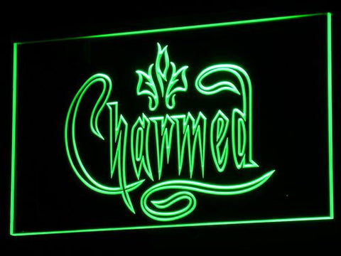 Charmed LED Neon Sign - Green - SafeSpecial