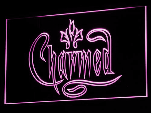 Charmed LED Neon Sign - Purple - SafeSpecial