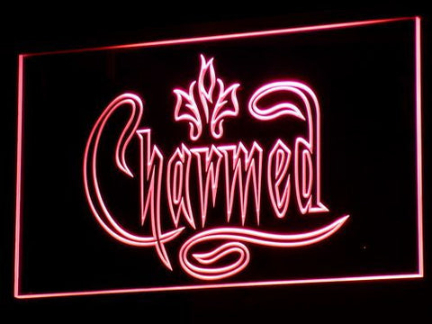 Charmed LED Neon Sign - Red - SafeSpecial