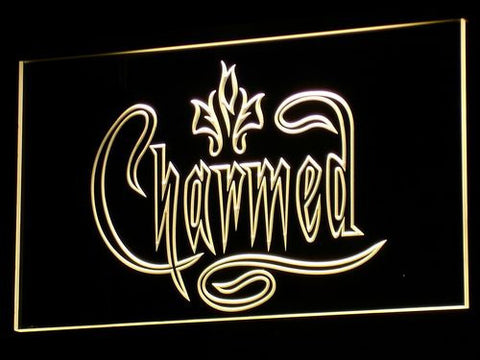 Charmed LED Neon Sign - Yellow - SafeSpecial