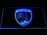 Chesterfield Football Club LED Neon Sign - Blue - SafeSpecial