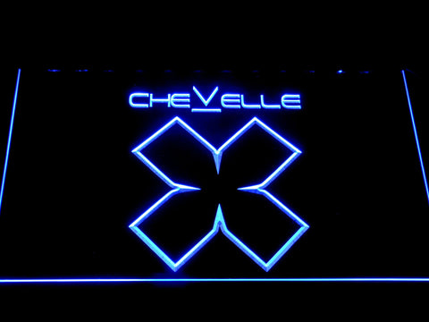 Image of Chevelle LED Neon Sign - Blue - SafeSpecial