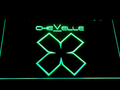 Chevelle LED Neon Sign - Green - SafeSpecial