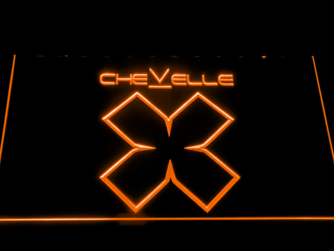 Image of Chevelle LED Neon Sign - Orange - SafeSpecial