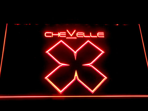 Image of Chevelle LED Neon Sign - Red - SafeSpecial
