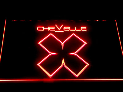 Chevelle LED Neon Sign - Red - SafeSpecial