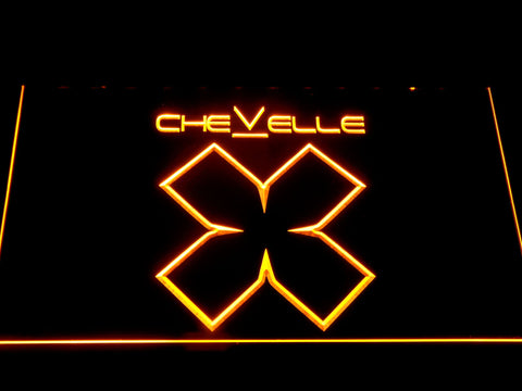 Image of Chevelle LED Neon Sign - Yellow - SafeSpecial