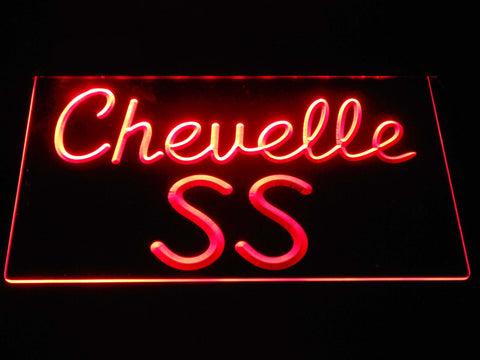Image of Chevrolet Chevelle SS LED Neon Sign - Red - SafeSpecial