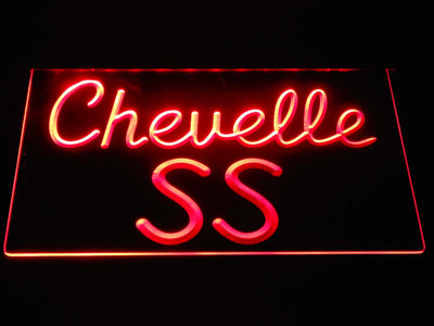 Chevrolet Chevelle SS LED Neon Sign - Red - SafeSpecial