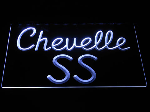 Image of Chevrolet Chevelle SS LED Neon Sign - White - SafeSpecial