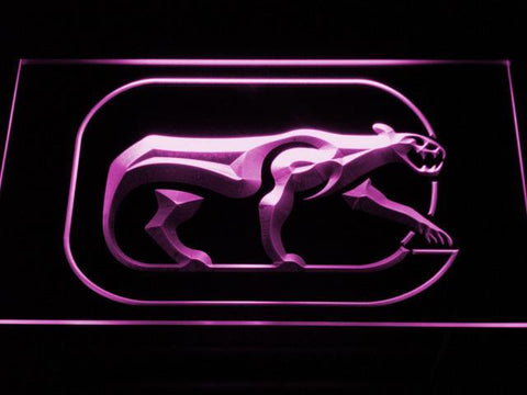 Chicago Cougars LED Neon Sign - Legacy Edition - Purple - SafeSpecial