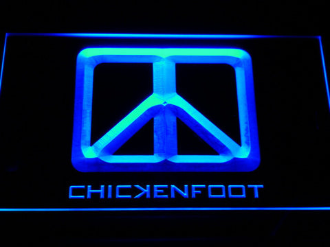 Chickenfoot LED Neon Sign - Blue - SafeSpecial