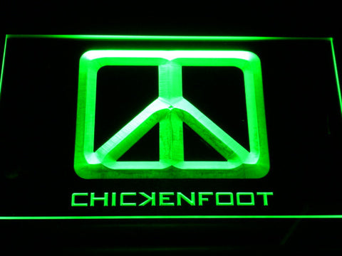 Chickenfoot LED Neon Sign - Green - SafeSpecial