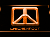 Chickenfoot LED Neon Sign - Orange - SafeSpecial