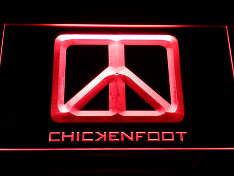 Chickenfoot LED Neon Sign - Red - SafeSpecial