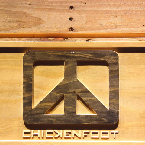 Chickenfoot Wooden Sign - - SafeSpecial
