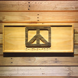 Chickenfoot Wooden Sign - Small - SafeSpecial