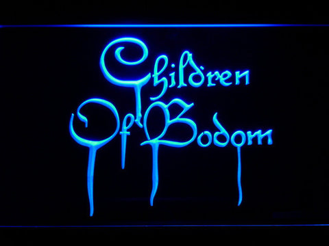Image of Children of Bodom LED Neon Sign - Blue - SafeSpecial