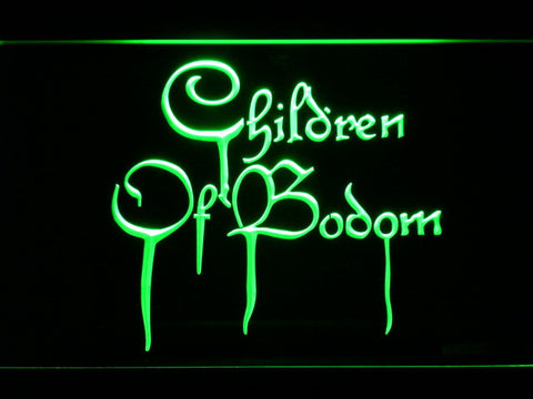 Image of Children of Bodom LED Neon Sign - Green - SafeSpecial