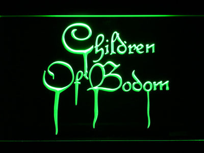 Children of Bodom LED Neon Sign - Green - SafeSpecial