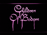 Children of Bodom LED Neon Sign - Purple - SafeSpecial